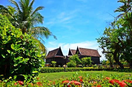 Der alte Stil Thai-Haus.