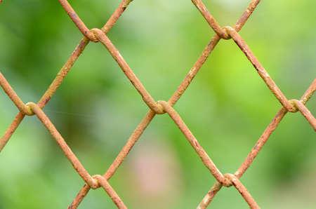 Rusty Net  Stock Photo