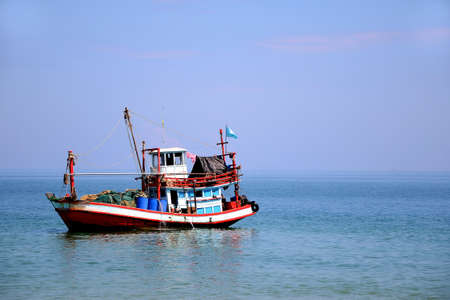 Folk Fishing Boat  Stock Photo