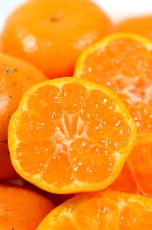 Cutout oranges  Stock Photo