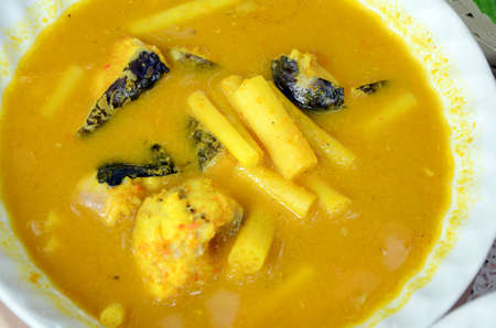 southern thailand: hot and sour, fish and vegetable ragout