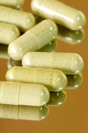druggist: Transparent Hard Gelatin Capsules filled with Herbal medicines