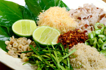Thai Cuisine  Khao Yam in Southern Style