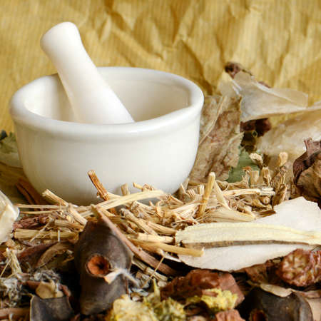 traditional plants: Chinese Dried Herbal Medicine