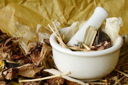 pestel: Chinese Dried Herbal Medicine