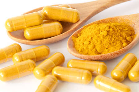 Tumeric powder and herbal medicine products  photo