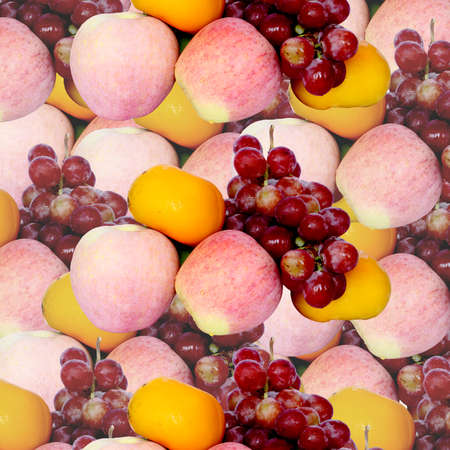 Fresh fruits from China  Stock Photo