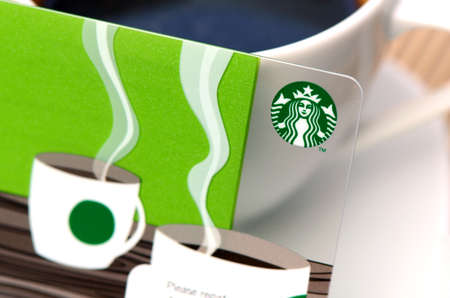 franchises: A new Starbucks card available for member in Thailand  Starbucks is the largest coffee franchises in the world, currently