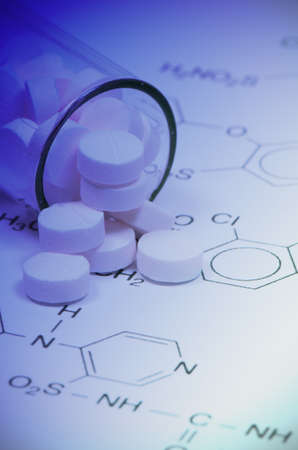 Chemical Structure and Tablets of Certain Kind of Medicine in New Drug Discovery Concept and Pharmaceutical Technology