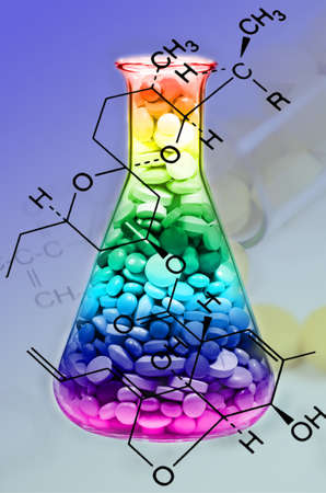 drug discovery: Mixed Tablet Dosage Form in the Erlenmeyer Flask and Chemical Structure in New Drug Discovery Concept and Pharmaceutical Technology