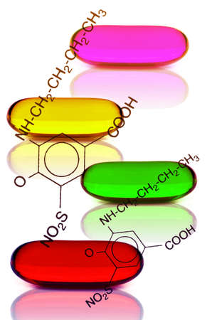 Soft gelatin capsule use in pharmaceutical manufacturing.
