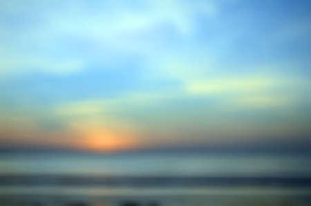 phenomena: Blurred Sunrise Background,Early Morning Light, The Natural Lighting Phenomena. Stock Photo