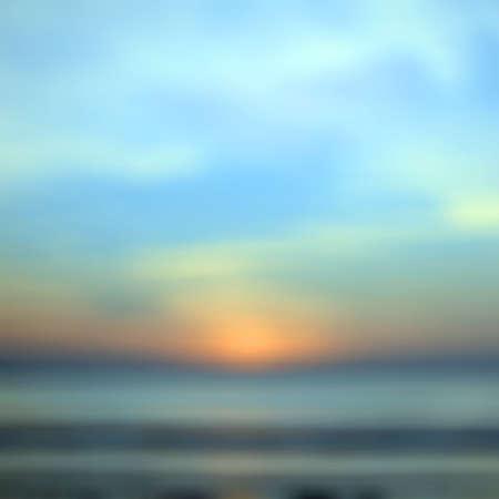 natural phenomena: Blurred Sunrise Background,Early Morning Light, The Natural Lighting Phenomena. Stock Photo