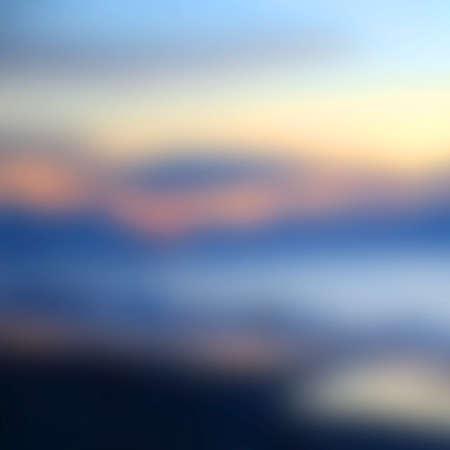 phenomena: Early Morning Light, Blurred Sunrise Background, the Natural Lighting Phenomena. Stock Photo