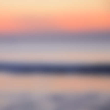 phenomena: Blurred Sunrise Background, Early Morning Light, The Natural Lighting Phenomena. Stock Photo