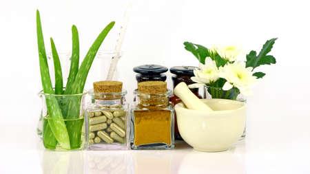 Médecine partir de produits naturels. Banque d'images