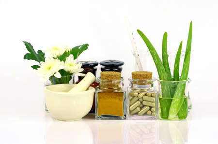 Medicina da prodotti naturali. Archivio Fotografico - 41196741