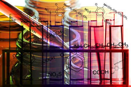 interactions: Laboratory Testing for New Drug Development. Stock Photo