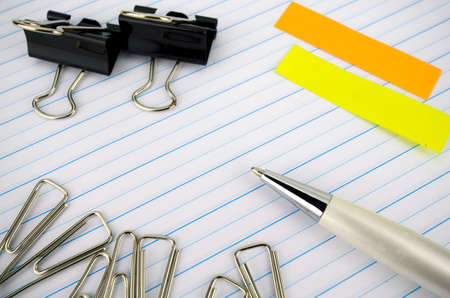 notebook paper: Stationery and Notebook paper with lines.