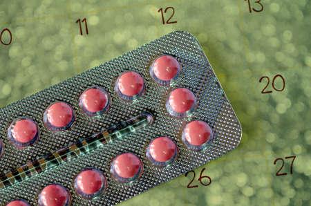 sex education: Pills and Calendar.