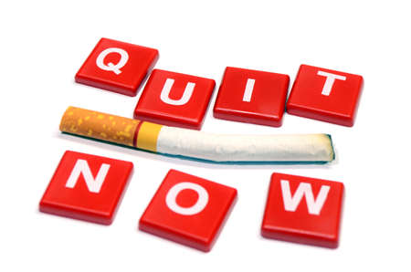31: Quit Smoking Now. 31 May World No Tobacco Day. Great American Smokeout. Stock Photo