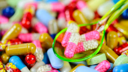 Colorful oral medication