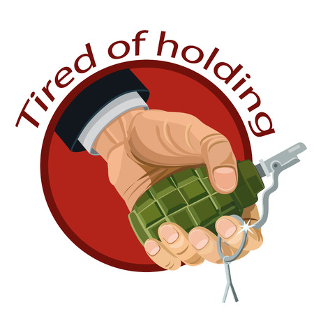 Icon frag grenade in hand is called the tired to hold, icon, and website for fans,
