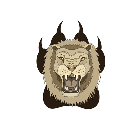 destiny: Tattoo trail lion force energy, courage, spirit, wise decision leaves a trail of your actions your destiny