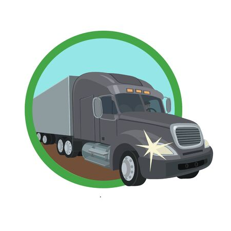 wholesale: The truck transports the goods and materials wholesale and retail, custom and exchange, for people and companies
