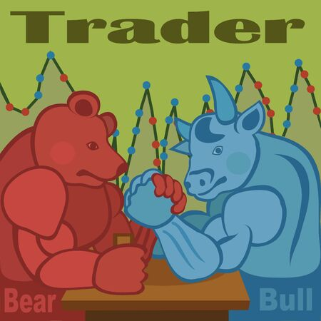 Traders are bulls and bears try their strength, who has time to seize the moment and to profit profit!
