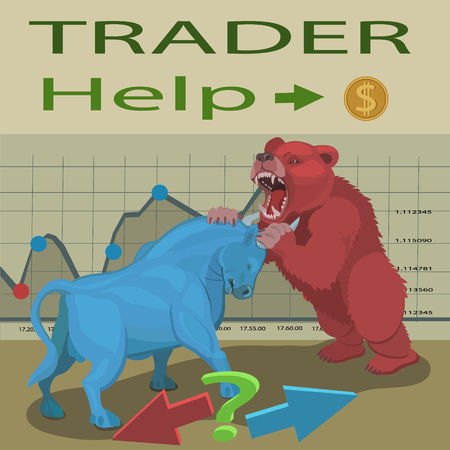 How to make money in the stock market, when trading up or down the bulls and the bears to correctly.