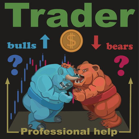 Trade buy and sell at competitive prices there is a constant struggle between bulls and bears who win this fight