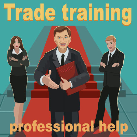 Trade training professional help with business peeople