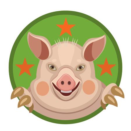 funny pig 2019 Çizim