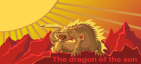 It is a protection of the dragon from the dark energies.