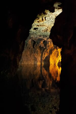 the longest water cave on earth called Alisadr