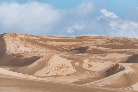after the rain wet sands in lut desert Reklamní fotografie