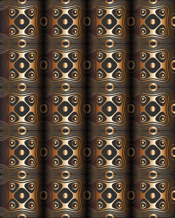 spins: Seamless abstract pattern like books spins.