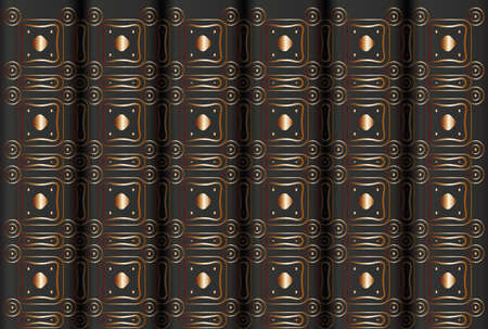 Seamless abstract pattern like books spins.