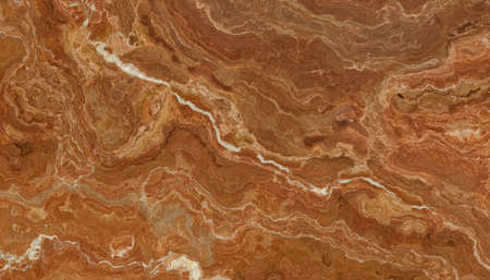 Beautiful brown marble tile with white veins