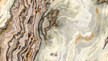 The tile of Onyx abstract curly texture. Colorful background. 2D illustration. Natural beauty