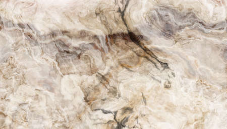 The tile of beige marble abstract texture. Colorful background. 2D illustration. Natural beauty