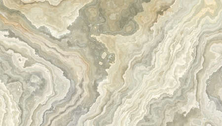 The tile of abstract white onyx background  with wavy pattern. 2D illustration. Natural beauty 스톡 콘텐츠