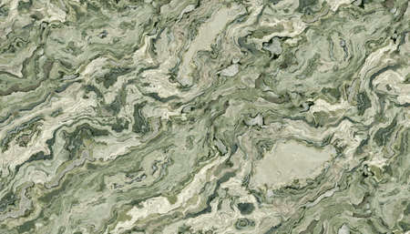 Green marble pattern. Background texture for design. 2D illustration Stock Photo
