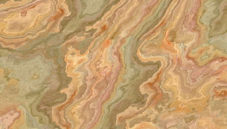 Multicolor Onyx tile with green and orange weaves. Background texture for design.