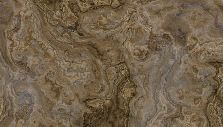 Brown marble pattern. Abstract texture and background. 2D illustration Stock Photo