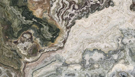 Multicolor marble abstract patter. Texture for design. 2D illustration. Natural beauty