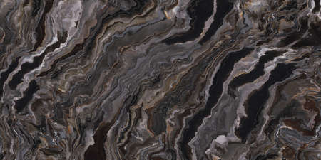 Dark grey marble texture with rough pattern. 2d illustration
