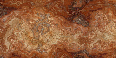 Red Travertine Beautiful Tile. Texture for design. 2D illustration
