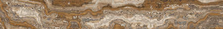 Travertine tile with beautiful pattern. Texture for design ceramic tiles. 2d illustration